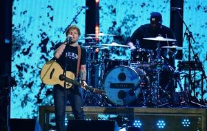 Ed Sheeran closes Glastonbury, saying he never dreamed he would headline