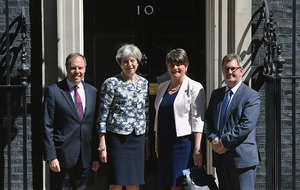 DUP sign deal to support Theresa May's minority Tory government