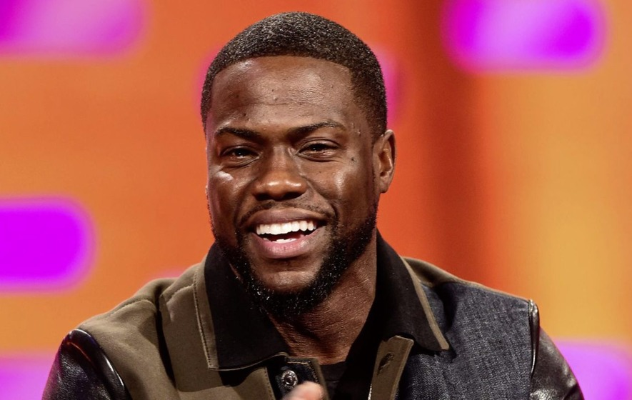 US comedian and actor Kevin Hart on new autobiography