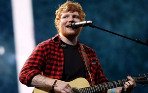 Ed Sheeran hits back after being accused of using a backing track at Glastonbury