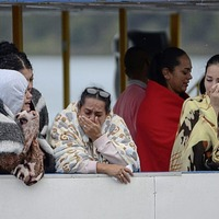 Search for bodies on Colombian reservoir continues after ferry capsizes