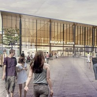 Plans lodged for new multi-million pound Belfast Transport Hub