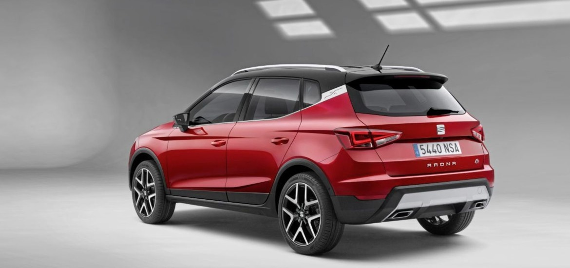 seat arona jacked up ibiza joins the suv fray the irish news. Black Bedroom Furniture Sets. Home Design Ideas
