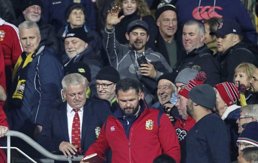 Lions coach Warren Gatland not worried about personal criticism