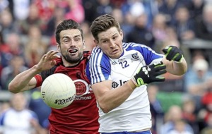 Down's kickout press more effective than Monaghan's