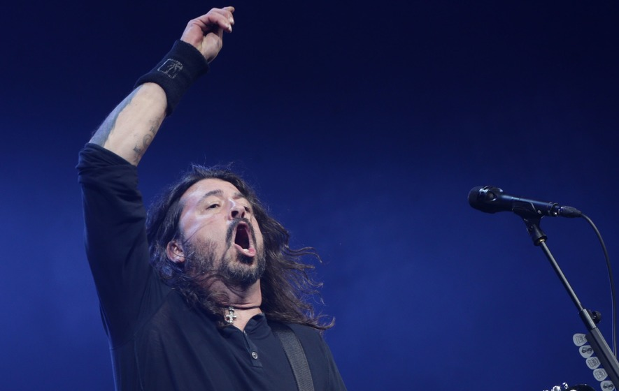 Move over Adele! Defiant Dave Grohl is Rolling In The Bleep