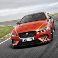 Hot new Jaguar takes off like a scalded cat