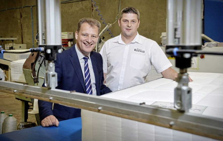 Tyrone manufacturing firm Restwell creating 20 jobs in major expansion