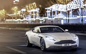 Aston Martin DB11 - v. good V8 engine joins V12 power