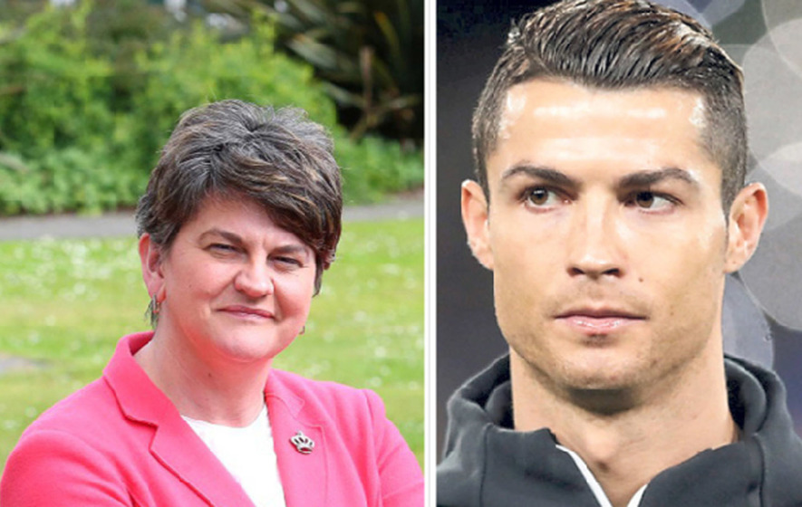 DUP MPs are worth more than Ronaldo, says SNP MP