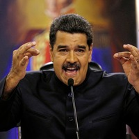 Venezuelan president claims helicopter fired on country's supreme court