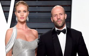 Rosie Huntington-Whiteley announces birth of son with Jason Statham
