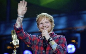 Singer Ed Sheeran to perform seven Irish gigs, including Belfast