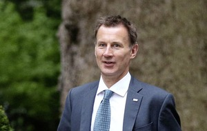 Jeremy Hunt adds voice to Northern Ireland abortion debate