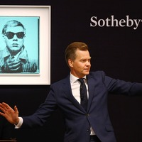 Andy Warhol's 'first selfie' sells for £6m