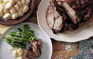 Family favourites: Slow roast porchetta & flourless chocolate cake