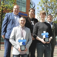Tech-savvy students win new awards