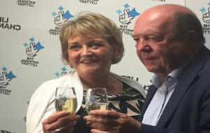 Kevin Bell Repatriation Trust couple in £1 million lottery win