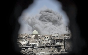 Iraqi forces take landmark Mosul mosque blown up by IS