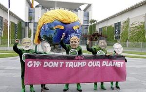 European G20 Nations united on Paris climate change accord says Merkel