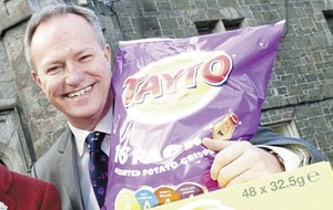 Tayto expands vending business in multi-million pound deal