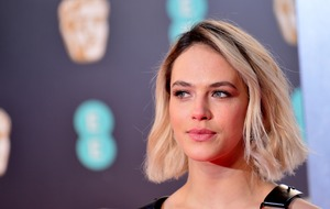 Downton Abbey star Jessica Brown Findlay dons 70s look for Morrissey film