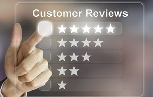 The power of a positive social review
