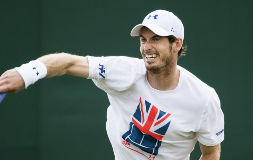 Andy Murray comes through practice sessions unscathed
