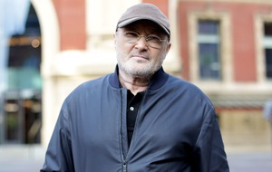 Phil Collins apologises for 'shabby' appearance as he collects top music award