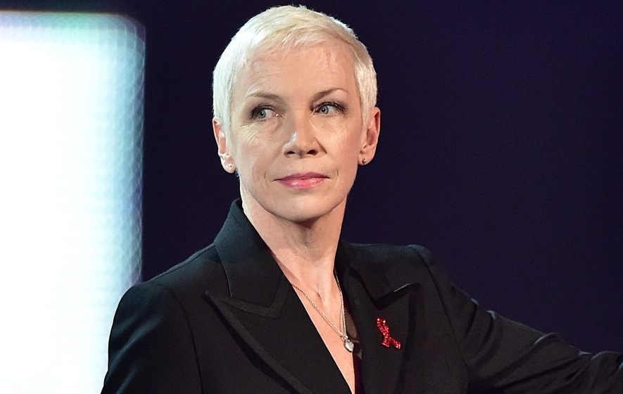 Radio station tells Annie Lennox she has 'potential'