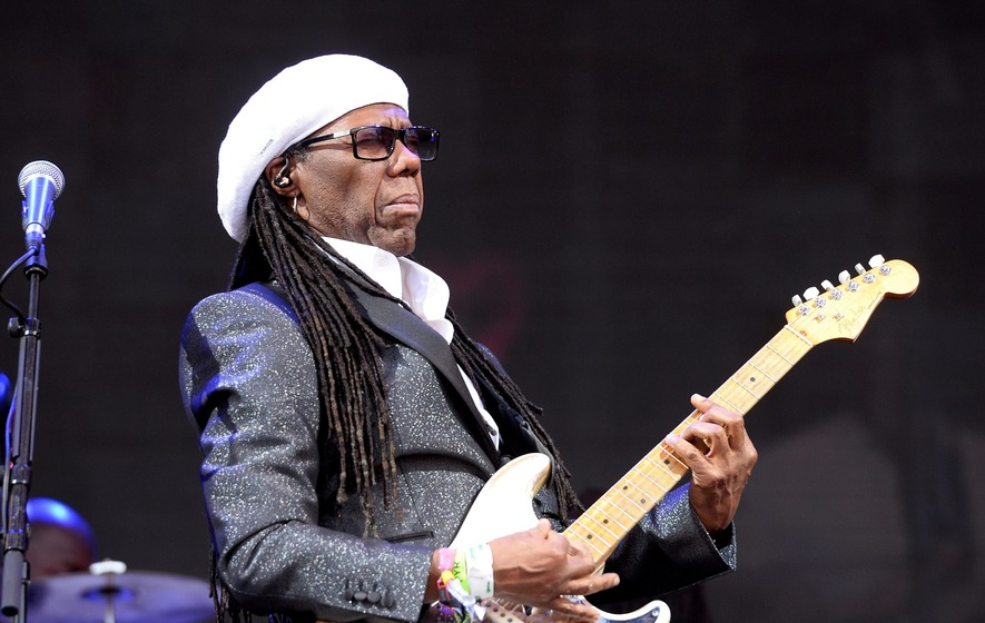 Nile Rodgers hails 'most inspirational trip' to the UK