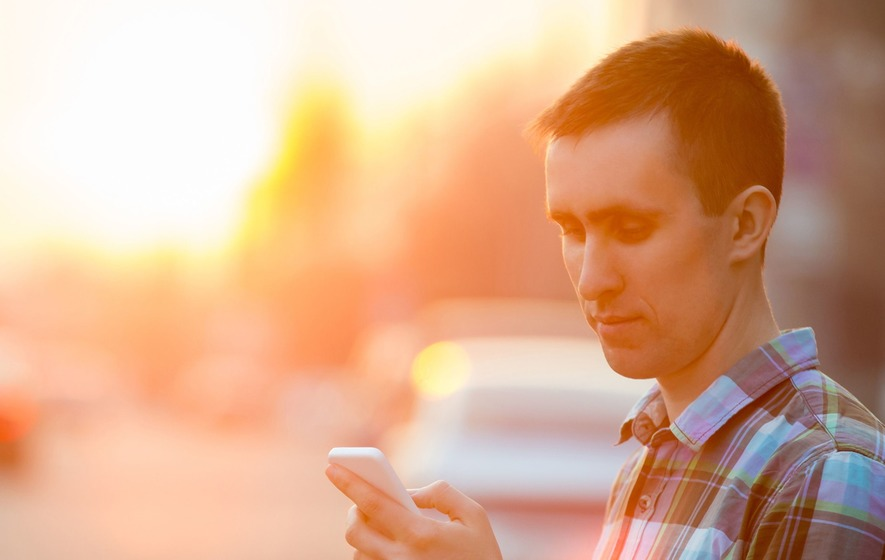 Mobile phone users walk differently to avoid risk of tripping, study suggests