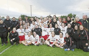Tyrone ladies cruise to victory against Down in Ulster junior final
