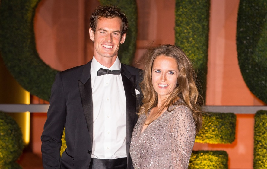 Andy Murray expecting a second child with wife Kim