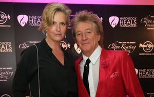 Sir Rod Stewart and Penny Lancaster renew their vows in star-studded ceremony