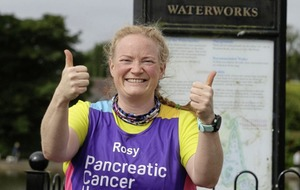 Runner and cancer patient Rosy Ryan completes her 100th Parkrun