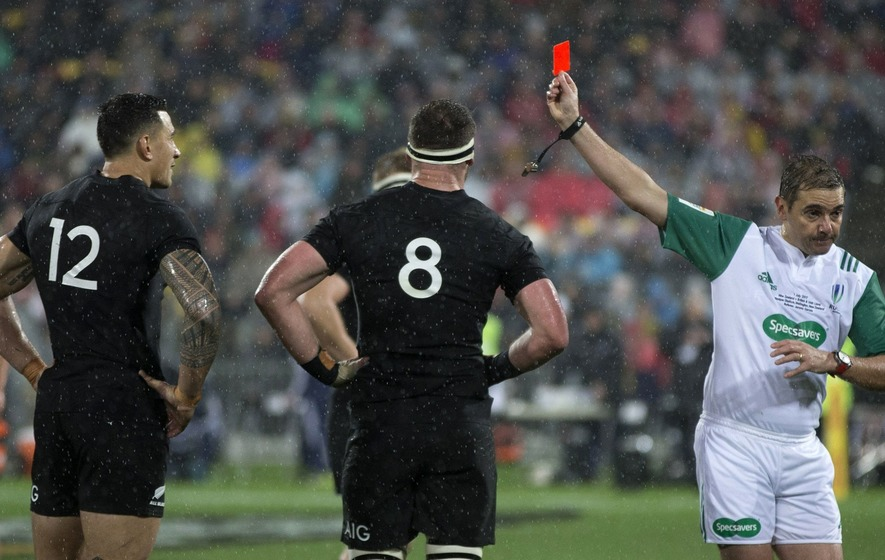 Sonny Bill Williams is getting over his four-week ban in the best way