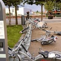 Belfast Bikes vandalised in CS Lewis Square in east Belfast