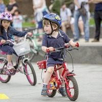 Biking for young and old in Belfast