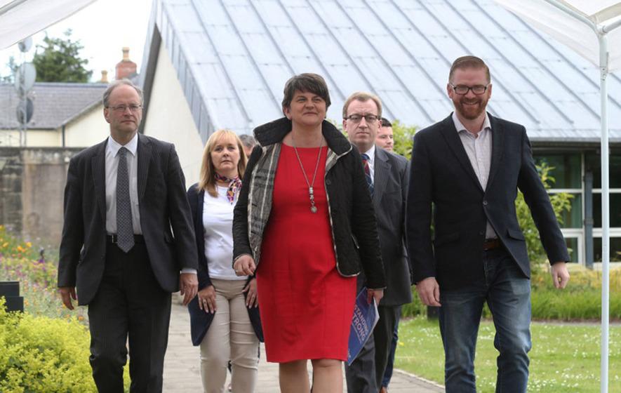 Arlene Foster slams Sinn Féin for 'politicising Irish language'