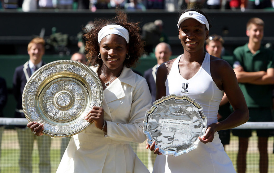 On This Day - July 4 2009: American Serena Williams beat her sister Venus to win Wimbledon