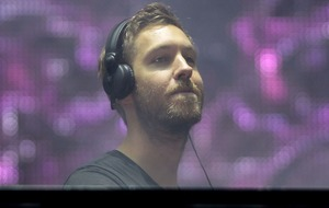 Calvin Harris could topple Ed Sheeran off the top of the album charts this week