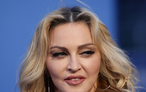 Madonna shares picture of her 'show girl debut'