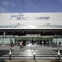 Passenger numbers fall at both Belfast City and City of Derry Airports