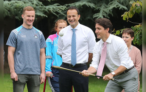 Justin Trudeau and Leo Varadkar keen to get more women into politics
