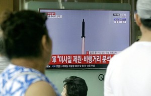 North Korea tests missile that flies higher and longer than previous ones
