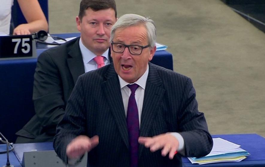 Why did Jean-Claude Juncker call the European Parliament 'ridiculous'?