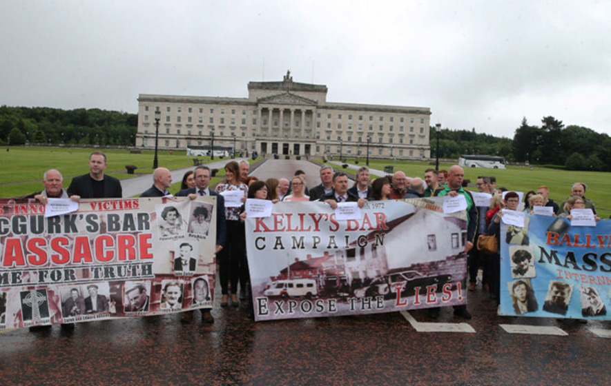 Don't put Troubles' legacy on back burner, warn victims campaigners