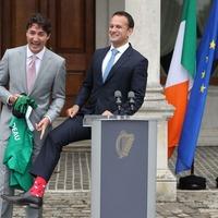 Justin Trudeau has a challenger in the funky sock stakes: Irish Taoiseach Leo Varadkar