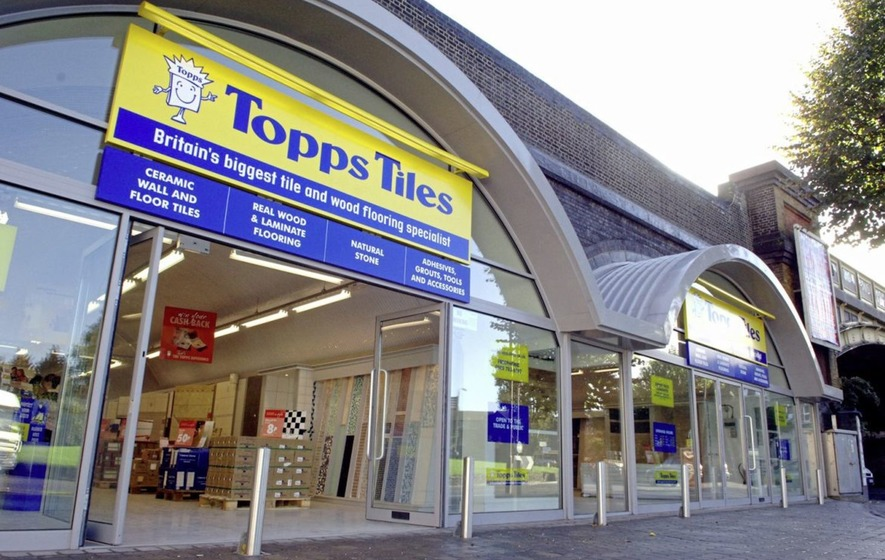 Topps Tiles sales down as group battled 'challenging' market
